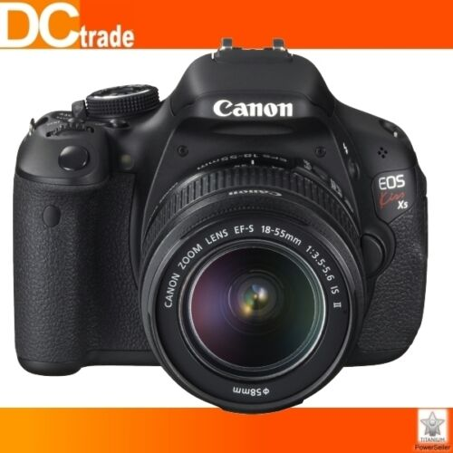 Canon EOS Kiss X5 600D Rebel T3i Kit+18-55mm IS II in Cameras & Photo, Digital Cameras | eBay