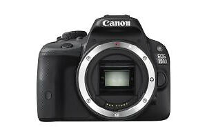 Canon EOS SL1 18,0 MP Digitalkamera - Sc...