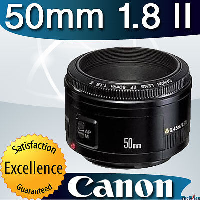 Canon Normal EF 50mm 1.8 f/1.8 II Autofocus Lens for Canon XSi T2i T3 60D 5D 7D in Cameras & Photo, Lenses & Filters, Lenses | eBay