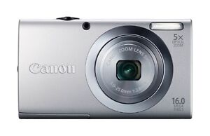 Canon PowerShot A2400 IS 16.0 MP Digital...