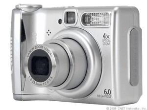 Canon PowerShot A540 6,0 MP Digitalkamer...