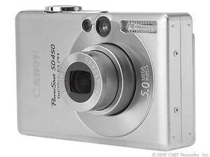 Canon PowerShot SD450 / Digital IXUS 55