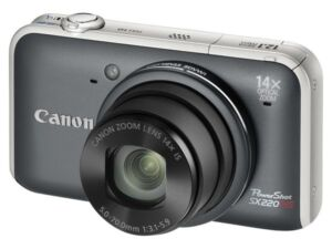 Canon PowerShot SX220 HS 12 MP Digitalka...