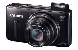 Canon PowerShot SX260 HS 12.1 MP Digital...