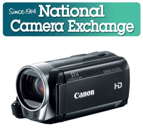 Canon Vixia HF R300 AVCHD 1080p HD Video Camera Refurbished in Cameras & Photo, Camcorders | eBay