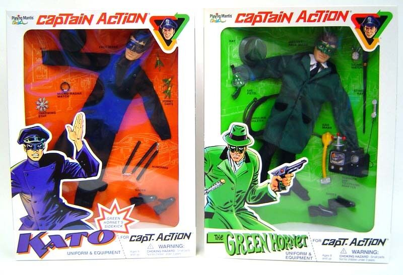Captain Action 12 Green Hornet Kato Re issue Outfits