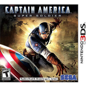 Captain America: Super Soldier  (Nintend...