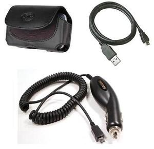 car charger case usb for tracfone lg 840g lg840g straight talk optimus