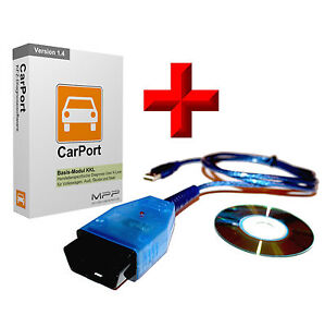carport kfz diagnose software vag autodia k409 interface f r vw audi seat skoda ebay. Black Bedroom Furniture Sets. Home Design Ideas