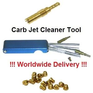 how to clean the jets on a walbro carb