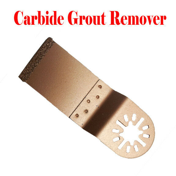 Carbide Grout Oscillating Multitool Saw Blade For Dremel