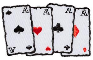 Cards patch gestickter Aufnäher - Deutschland - Widerrufsrecht: Sie können Ihre Vertragserklärung innerhalb von einem Monat ohne Angabe von Gründen in Textform (z.B. Brief, Fax, E-Mail) oder, wenn Ihnen die Sache vor Fristablauf überlassen wird, durch Rücksendung der Sache widerrufen - Deutschland