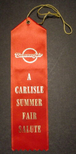 Carlisle Summer Fair Salute July 1 1984 Car Club Award Mummert Antique Auto in Collectibles, Historical Memorabilia, Other | eBay