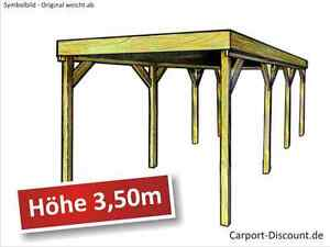carport 4x8m hoehe 3 50m fuer wohnwagen wohnmobil caravan. Black Bedroom Furniture Sets. Home Design Ideas