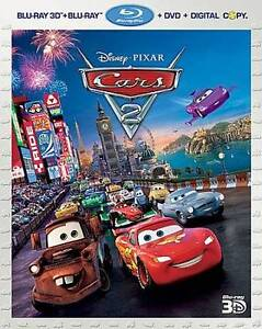 Cars 2 (Blu-ray/DVD, 2011, 5-Disc Set, I...