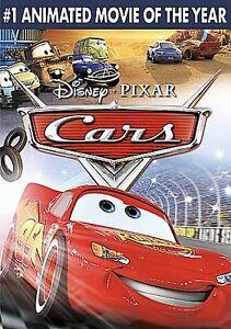 Cars (DVD, 2006, Full Frame)