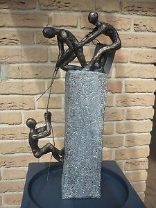 casablanca design skulptur assistance bronce. Black Bedroom Furniture Sets. Home Design Ideas