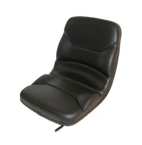 Case Backhoe Loader High Back Dishpan Black Seat 580C 580D 580E 580K