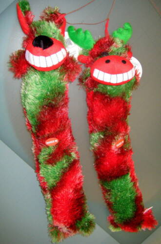Case Christmas Holiday Themed Plush, Squeaker Toys, choice Moose, Dog, Reindeer in Pet Supplies, Dog Supplies, Toys & Chews | eBay