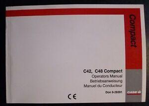Case-Traktoren-C42-C48-Compact-Betriebsanleitung