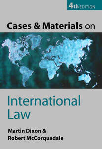 Cases and Materials on International Law...