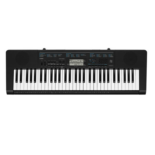 Casio CTK 2300 61 Key Portable Keyboard with 400 Sounds