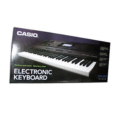 6000 61 Key Portable Keyboard Piano USB Electric Musical Key Board NEW