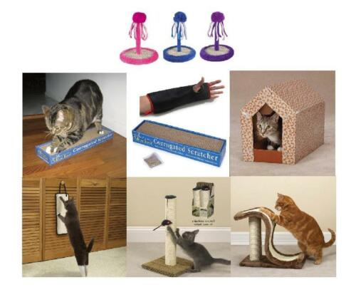 Cat Scratching Posts - Cat Scratchers - Cat Scratch Goodies - Relieve The Fever! in Pet Supplies, Cat Supplies, Furniture & Scratchers | eBay