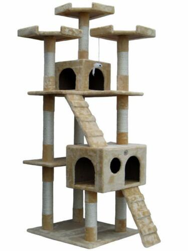 Cat Tree House Toy Bed Scratcher Post Furniture F2080 in Pet Supplies, Cat Supplies, Furniture & Scratchers | eBay