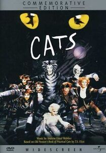 Cats: The Musical (DVD, 2000, Commemorat...