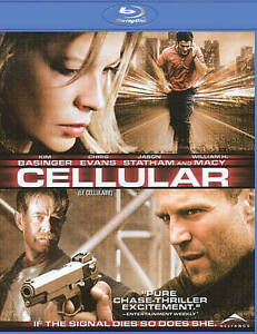 Cellular (Blu-ray Disc, 2009, Canadian)