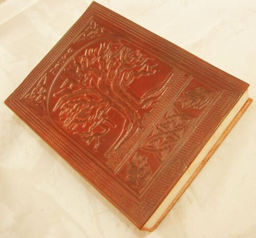 Celtic Tree of Life Handmade Leather Bound Journal Vintage Blank Diary Notebook in Books, Accessories, Blank Diaries & Journals | eBay