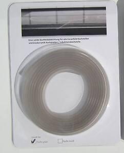 ceranfeld 3m dichtung induktions glaskeramik herd abdichten silikon kochstelle ebay. Black Bedroom Furniture Sets. Home Design Ideas
