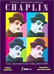 Charlie Chaplin: Early Masterpieces (DVD...