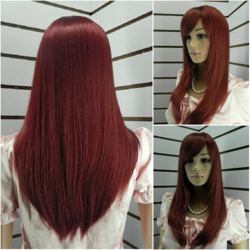 Charming-long-red-Straight-hair-womens-wig-gift-093
