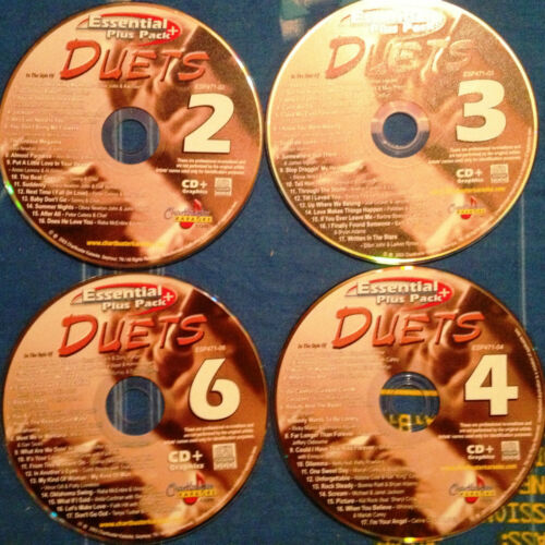 Chartbuster Karaoke Duet Songs- 67 Great Songs on 4 CD+G Factory Original Disc in Musical Instruments & Gear, Karaoke Entertainment, Karaoke CDGs, DVDs & Media | eBay