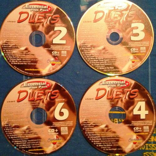 Chartbuster Karaoke Duet Songs- 67 Great Songs on 4 CD+G Factory Original Disc in Musical Instruments & Gear, Karaoke Entertainment, Karaoke CDGs, DVDs & Media | eBay