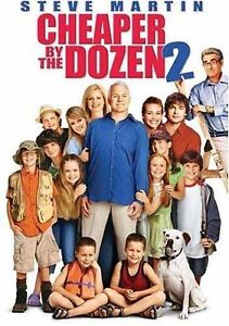 Cheaper By the Dozen 2 (DVD, 2006, Dual ...