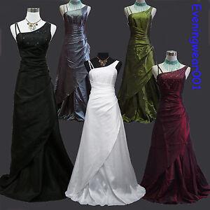 Cherlone-Satin-Hochzeit-Abend-Ballkleid-Brautkleid-Abendkleid-Brautjungfer-Kleid