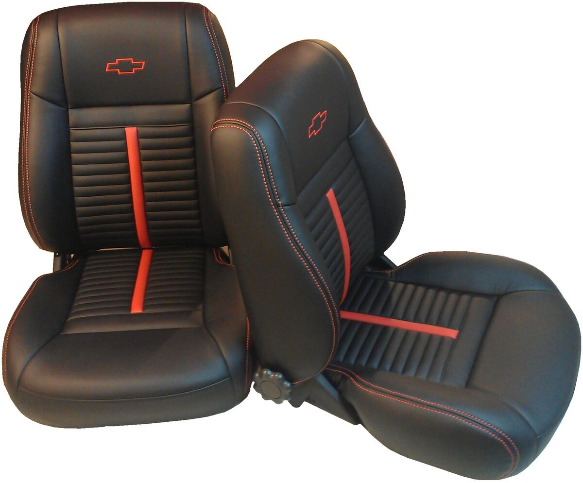 Chevy Camaro 67 69 Bucket Front Seats Rear Bench Seat Upholstery