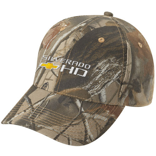 Chevy Silverado Hd Realtree Hardwoods Camo Hat Ebay