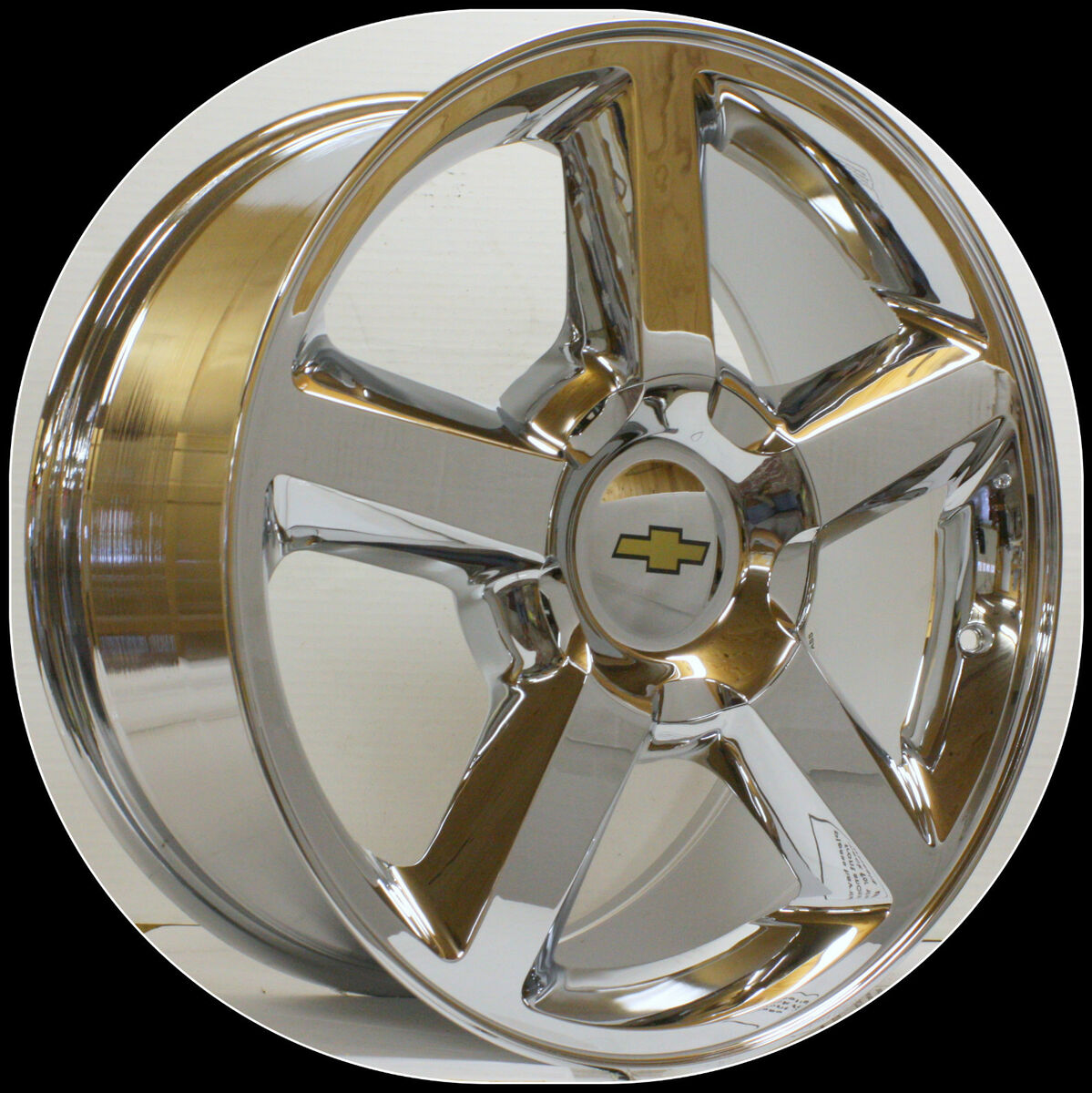 Chevy Tahoe Suburban Avalanche Silverado LTZ Chrome 20 in Wheels