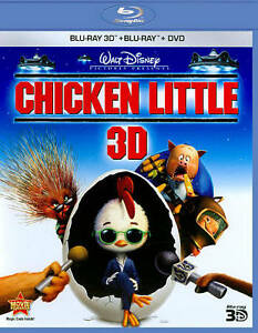 Chicken Little (Blu-ray/DVD, 2011, 3-Dis...