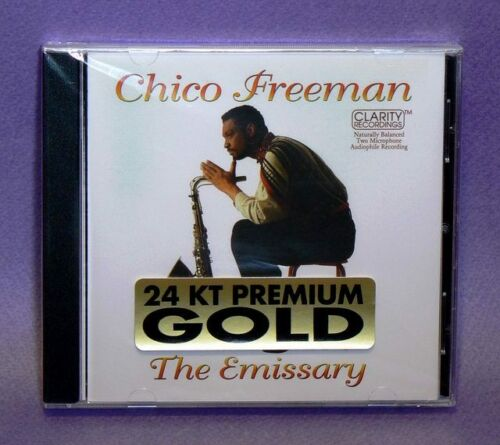 """Chico Freeman """"The Emissary"""" Clarity Recordings 24K GOLD CD Mega Rare OOP *NEW* in Music, CDs 