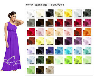 Sample for one shoulder chiffon evening wedding party dress ebay