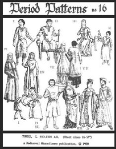 Child and Adult Tunics Period Pattern SCA LARP NEW. Mouse over image to zoom