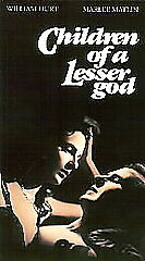 Children of a Lesser God (VHS, 1996)