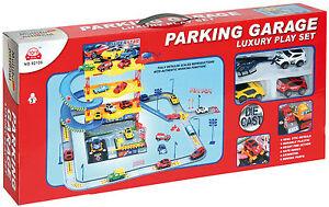Children S Toy Car Garage Play Set Great Boy S Birthday