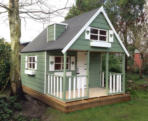 2 Storey Wooden Playhouse