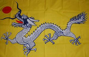 flagge mit drache